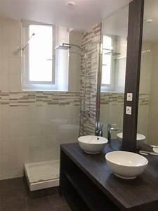 Salle De Bain Avant Après : salle de bain avant apr s pau atelier concept agencement ~ Mglfilm.com Idées de Décoration