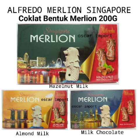 jnejnt satuanecer alfredo singapore merlion chocolate