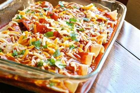 easy chicken enchiladas keeprecipes  universal