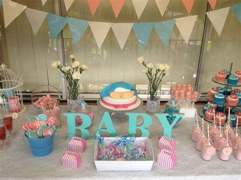 baby shower unknown gender pink blue parties fun