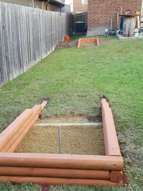 Horseshoe Pit Dimensions Backyard - 1027 best backyard tiki bar images on tiki