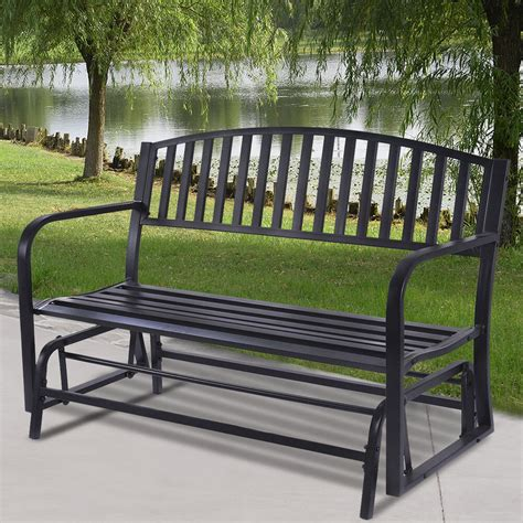 Loveseat Glider Outdoor by Outdoor Patio Leisure Swing Rocker Glider Bench Loveseat