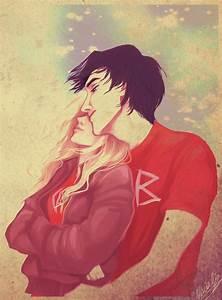 Percy and Annabeth by viria13 on DeviantArt