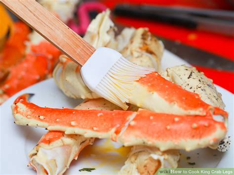 how do you boil king crab legs 4 ways to cook king crab legs wikihow