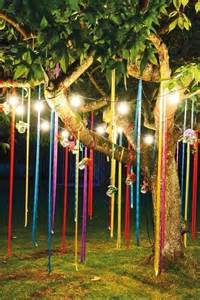 create the bohemian and then all colorful ribbons and