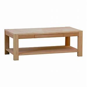 Table Basse Chene Blanchi : table basse pas cher ~ Melissatoandfro.com Idées de Décoration