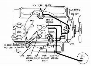 Vacuum Line Diagram For 1971 Chevy 350