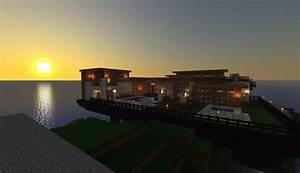 Modern Beach House Minecraft Terraria Pinterest