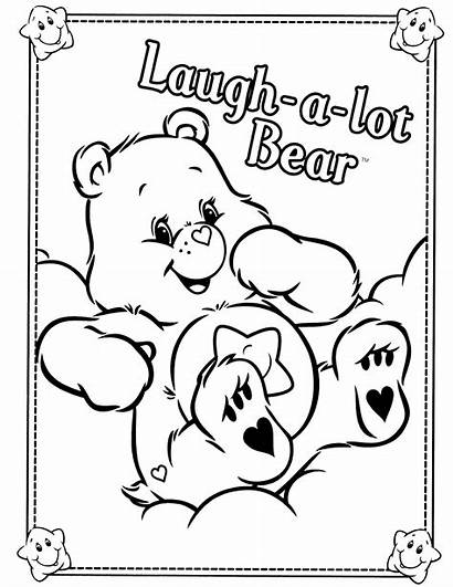 Coloring Bear Care Bears Pages Adult Printable