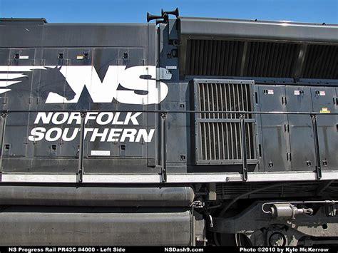 NS Locomotive Detail Photos - Progress Rail PR43C #4000