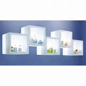 Etagere Cube But : etagere lumineuse open cube slide zendart design ~ Teatrodelosmanantiales.com Idées de Décoration
