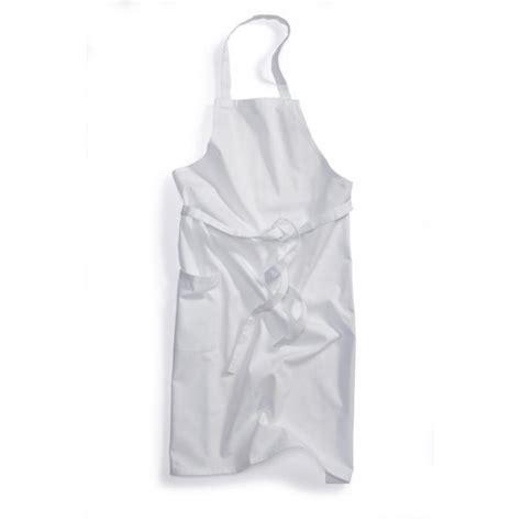 tablier blanc de cuisine tablier de cuisine à bavette blanc