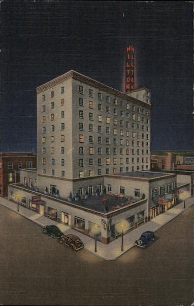 Hotel Hilton Albuquerque Nm Postcard