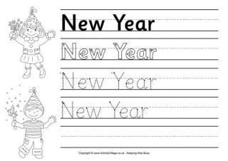 year worksheets  images handwriting worksheets