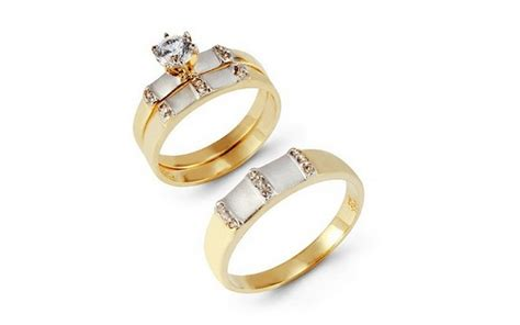 10 Charming Cheap His And Her Wedding Ring Sets Michael Kors Logo Jewelry Silverware To Buy Made Into Antique Meaning Wholesale Zuni Wooden Boxes Images Jewellery Collection