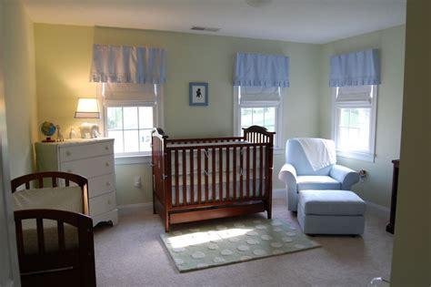 soothing blue  green nursery project nursery