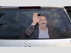 Nicolas Cage Cutout in this Car's Back Window Makes You