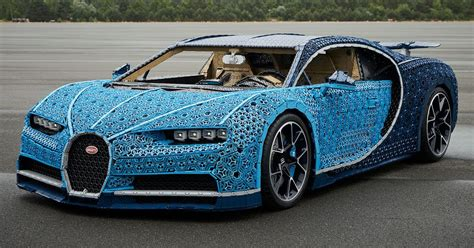 Chiron Carry Build by Size Lego Technic Bugatti Chiron Hiconsumption