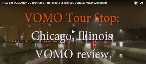 how did vomo do vo tech guru tim tippets challenged portable voice booth vocalboothtogo
