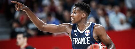 ntilikina shining bright  france future starts  world