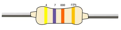 4 band resistor color code resistor color codes finding resistor values