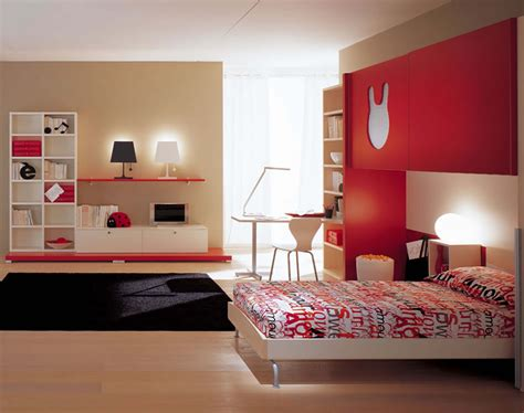 Nice Beige Black And Red Bedroom 18 In Decorating Home
