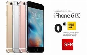 Iphone 6 Occasion Sfr : iphone 6s 0 chez sfr bon plan de no l ~ Medecine-chirurgie-esthetiques.com Avis de Voitures