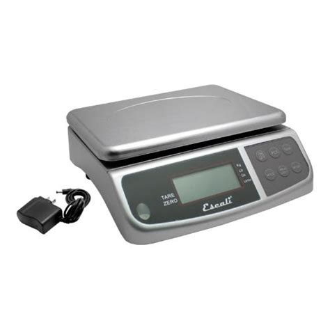 escali  lb   oz digital scale  ac adapter etundra
