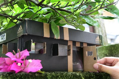 how to make a home how to make a faerie house out of shoe boxes 8 steps