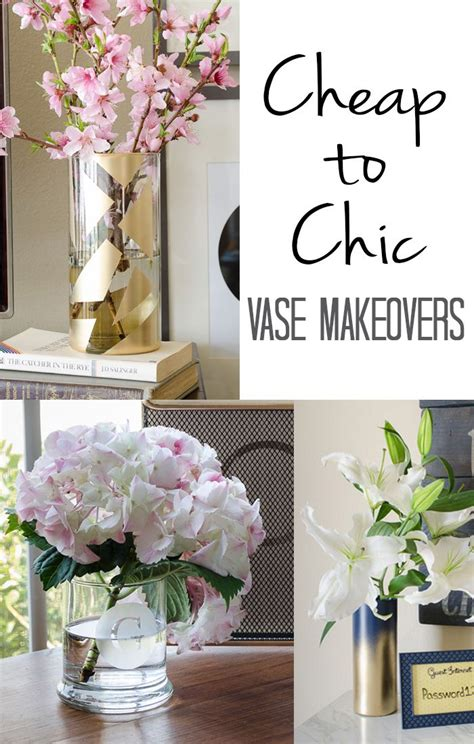 dollar store vase makeovers   inexpensive   add