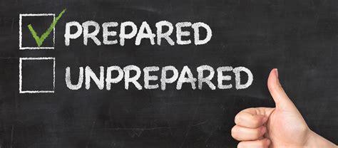 Are You Prepared? Phpr