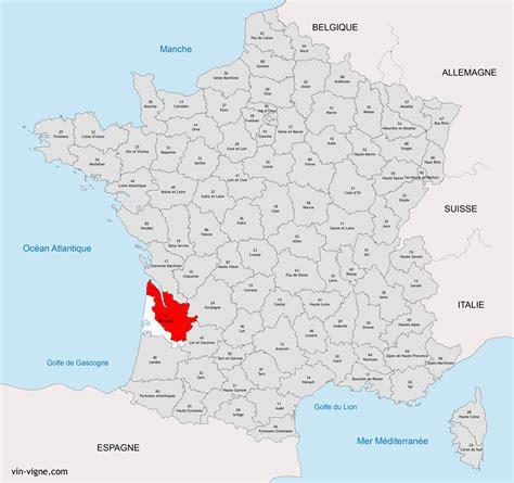 Acheter Carte Des Vignobles Français by Carte De Bordeaux Carte 2018