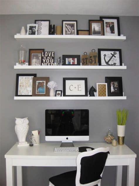 shelves above desk the shelves to the ceiling above a desk diy shelves