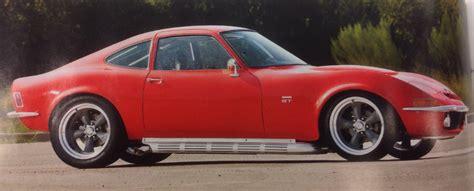 Opel Gt V8 by Resto Modded Buick V8 Powered Opel Gt W 66