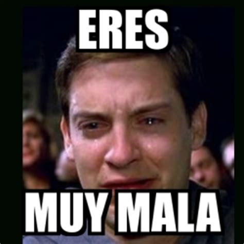 Memes Sexuales - meme crying peter parker eres muy mala 4120103