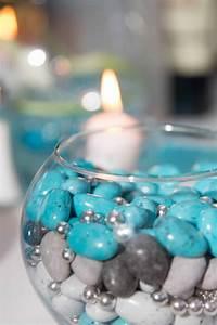 Gris Et Bleu : d coration mariage drag e bleu turquoise blanc et gris jenny 39 s photographe de mariage en r gion ~ Dode.kayakingforconservation.com Idées de Décoration