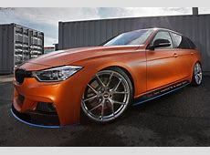 BMW 3er Touring Tuning und Folierung machen unübersehbar