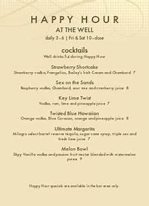 happy hour menu templates musthavemenus 237 found With happy hour menu template