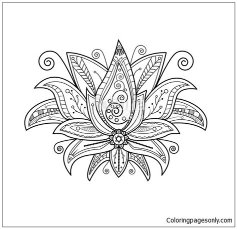 turtle mandala coloring page  coloring pages
