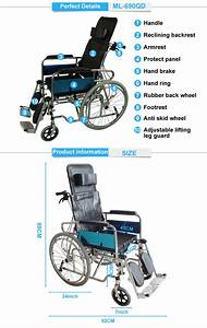 Rehabilitation Therapy Supplier Manual Wheelchair For