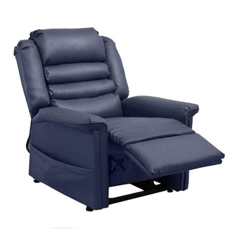 catnapper invincible faux leather power lift recliner in