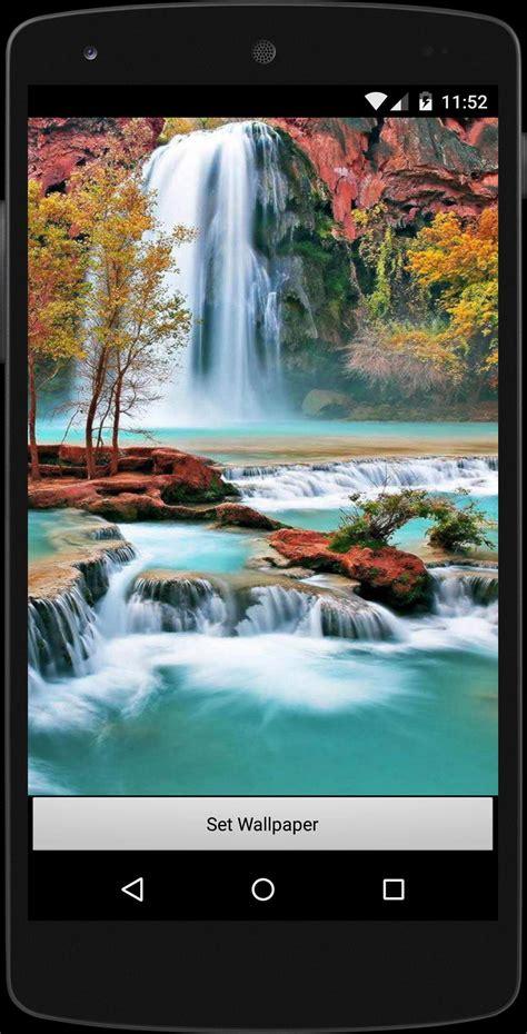 วอลเปเปอร์ น้ำตก ธรรมชาติ HD for Android - APK Download