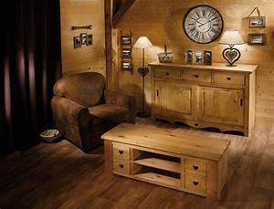 vos meubles prennent de laltitude le blog deco delamaison With meubles de montagne en bois