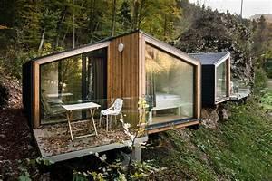 Une maison préfabriquée écologique en bois la mini