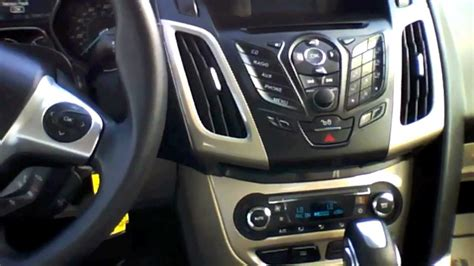 car engine manuals 2012 ford focus head up display 2012 ford focus sel sedan start up quick tour rev with exhaust view 5k youtube