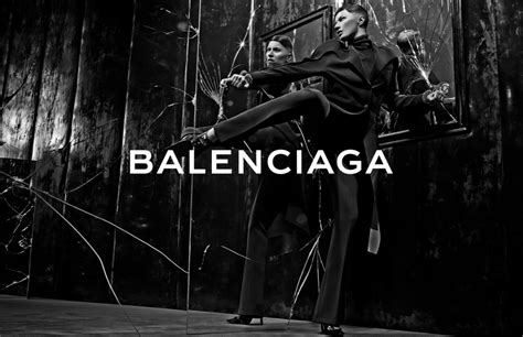 balenciaga fall winter  ad campaign features  woven backpack spotted fashion