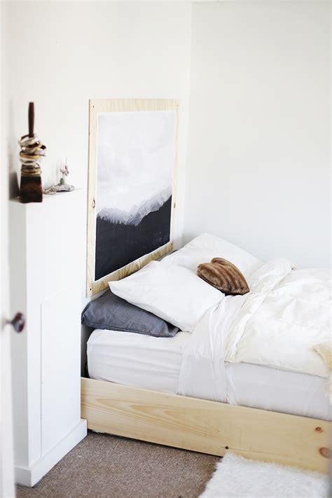 Minimalist Bedroom Diy by Minimal Bedroom The Merrythought