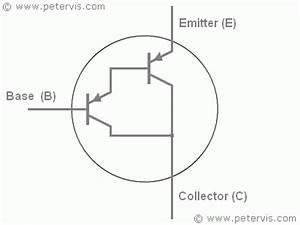 darlington transistor symbol With two transistors as shown in the diagram or darlington pair transistors