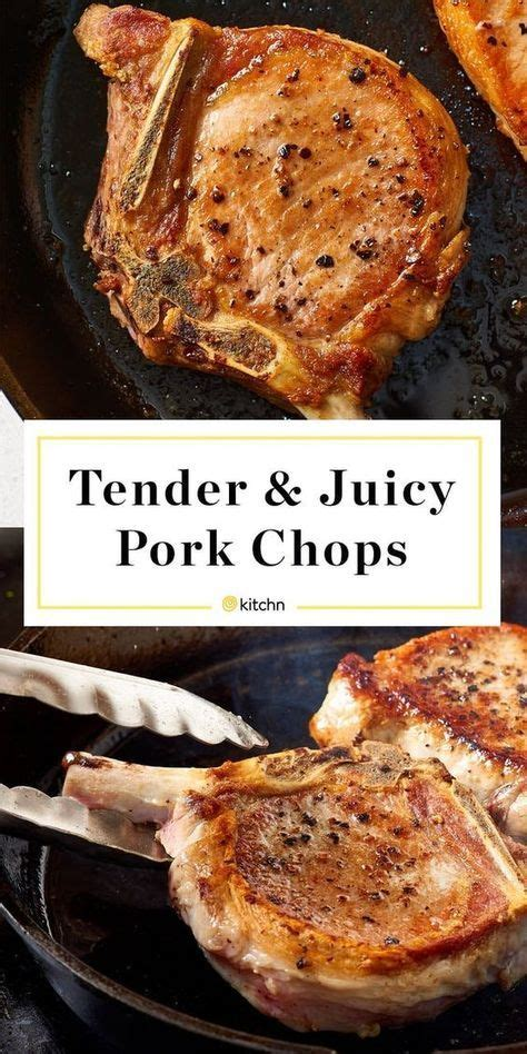 I have been making this pork chop recipe for many years and for many years my pork chops. How To Cook Tender & Juicy Pork Chops in the Oven   Recipe ...