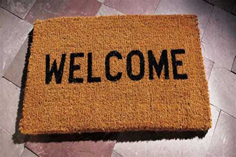 Welcome Mat by Welcome To Our New Home Welcome To Our New